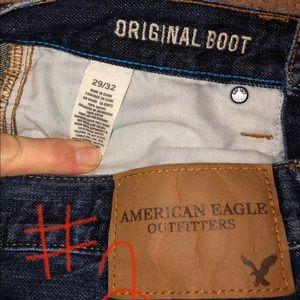 American Eagle Original boot cut jeans Size 29x32
